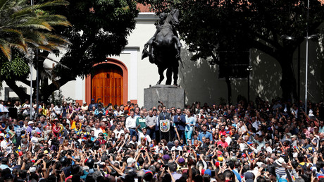 Juan Guaidó, Oppositioneller, der sich zum Interim-Präsidenten Venezuelas, 25. Januar 2019.