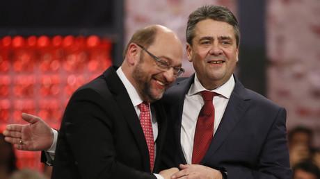 Da waren sie noch Freunde, jetzt sollen sie es wieder sein: Martin Schulz und Sigmar Gabriel auf der