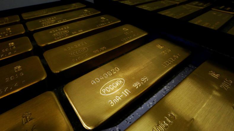 Gold statt US-Dollar: Russland führt Trend an
