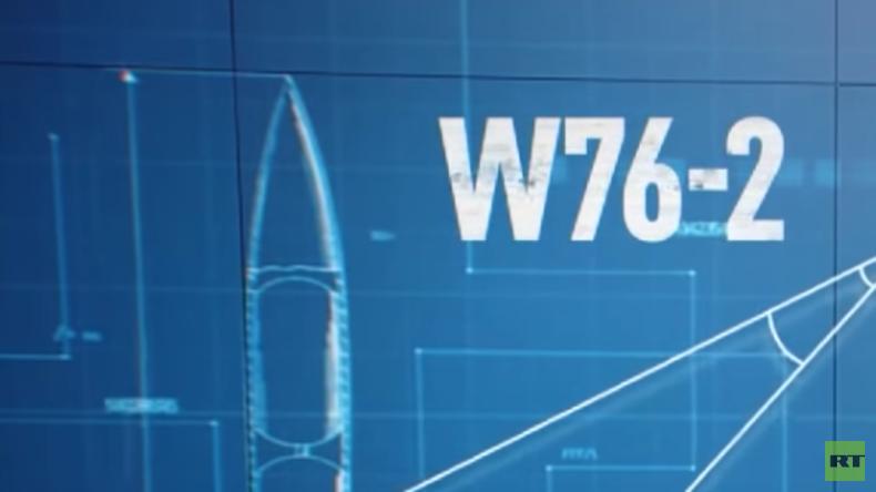 US-Verteidigungsministerium entwickelt neue Mini-Atombomben (Video)