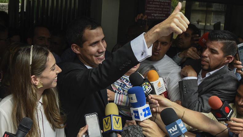 EU-Parlament: Mitgliedsstaaten sollen Juan Guaido anerkennen (Video)