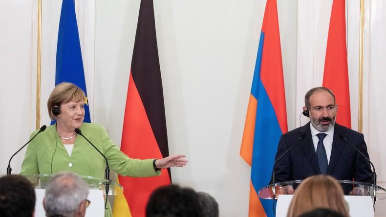 LIVE: Kanzlerin Merkel und armenischer Ministerpräsident Nikol Paschinjan geben Pressekonferenz