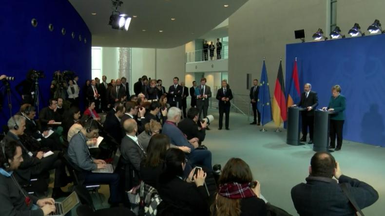 Merkel: Berlin bereit, den INF-Vertrag zu retten