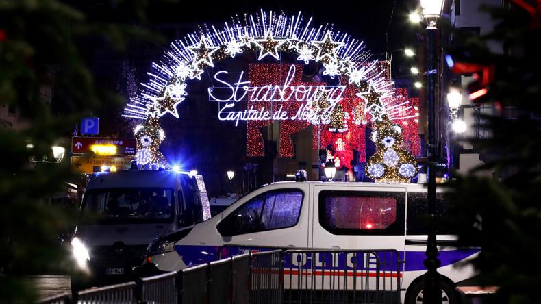 Ermittlungsverfahren gegen drei Verdächtige nach Straßburger Anschlag