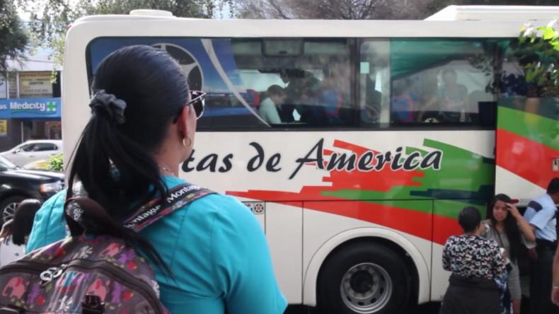 Mindestens 168 Venezolaner kehren aus Ecuador nach Hause zurück
