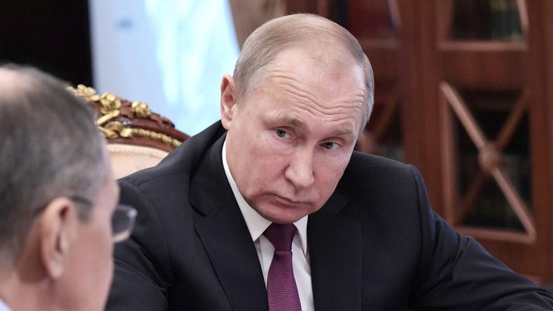 """""""Spiegelreaktion"""": Russland setzt INF-Vertrag als Reaktion auf USA aus"""