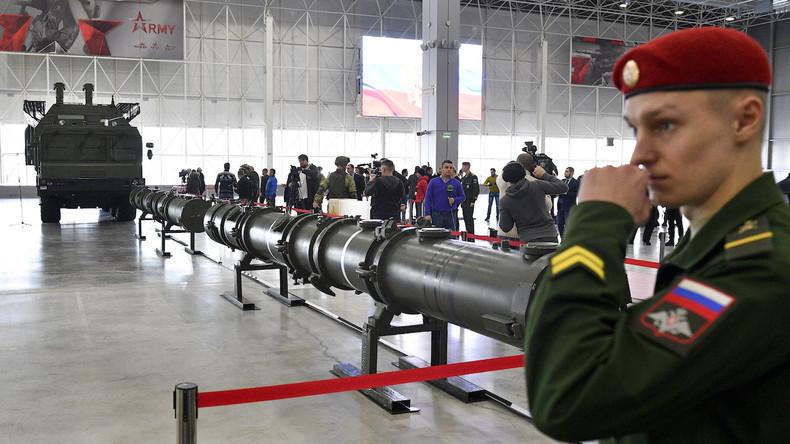 Trump macht Russland für das Ende des Atomwaffenkontrollvertrags verantwortlich
