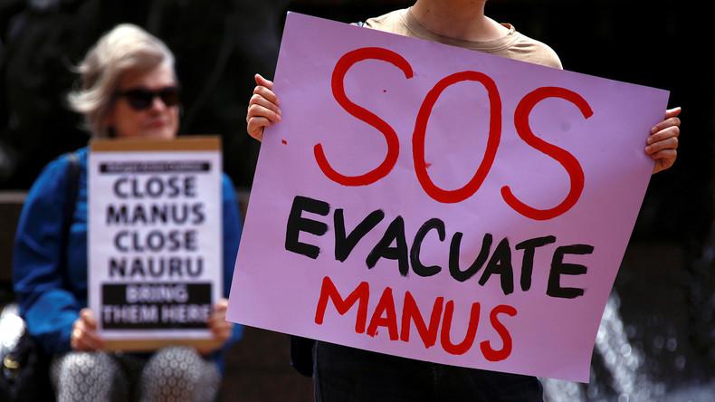 Australien holt letzte Flüchtlingskinder aus Internierungslager