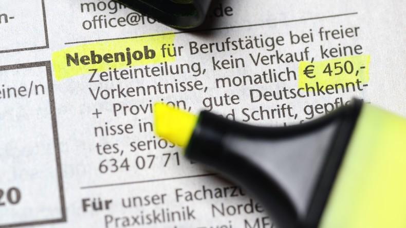 Studie: Immer mehr Menschen mit Nebenjobs in Deutschland