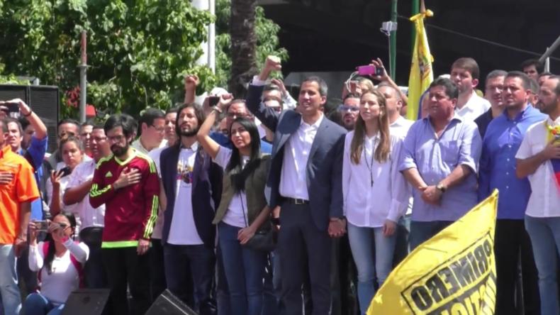 Venezuela: Guaidó kündigt internationale humanitäre Hilfe für Venezuela an