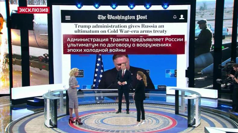 Sprecherin des russischen Außenministeriums: USA brechen internationale Abkommen