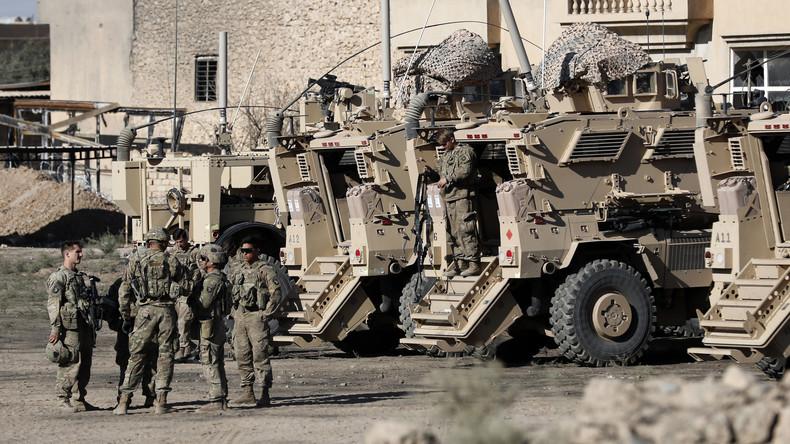 """Trump: USA wollen Truppen im Irak halten, um Iran zu """"beobachten"""""""