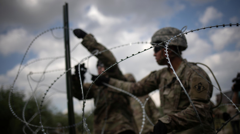 US-Regierung schickt 3.750 Soldaten zusätzlich an Grenze zu Mexiko