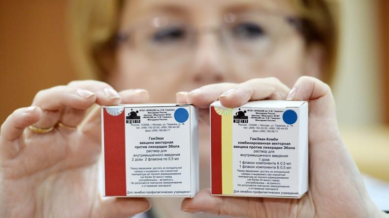 Russische Forscher: Erster universeller Impfstoff gegen Ebola einsatzbereit