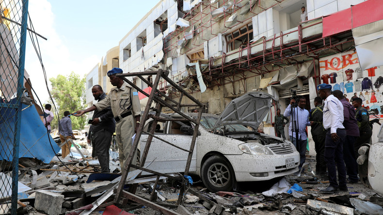 Anschlag auf Einkaufszentrum in Somalia: Mindestens elf Tote