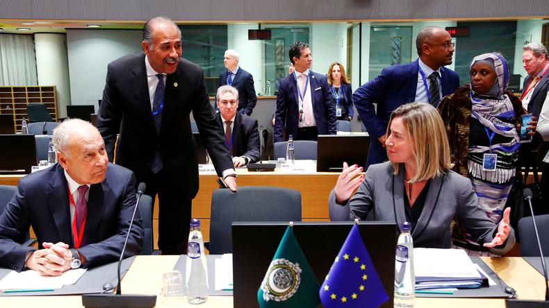 LIVE: Pressekonferenz von Mogherini, Gheit und Al-Dirdiri nach Treffen von EU und Arabischer Liga