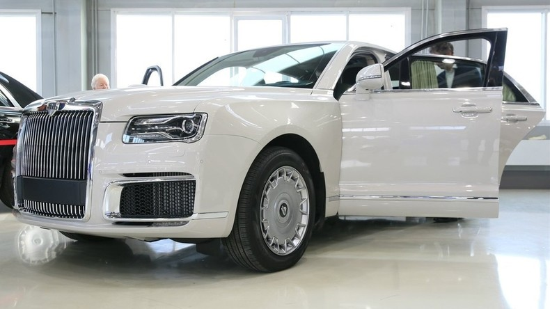 Präsidentenschlitten: Russischer Limousinen-Hersteller Aurus nimmt Kundenvorbestellungen entgegen