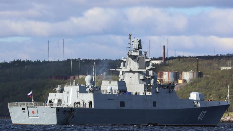 Blendende Leistung – Russlands Marine erhält neuen optoelektronischen Schutz