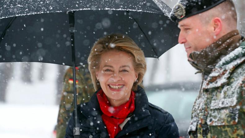 Ursula von der Leyen in Litauen: Werden so lange bleiben, wie wir gebraucht werden