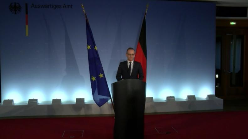 Maas bestätigt die Anerkennung von Juan Guaidó und sagt fünf Mio. Euro Hilfe zu