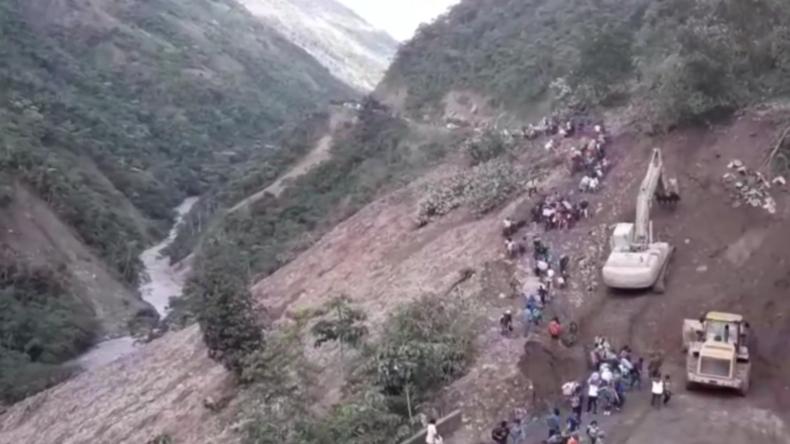 Bolivien: Schlammlawine fegt Menschen nach tagelangem Starkregen weg