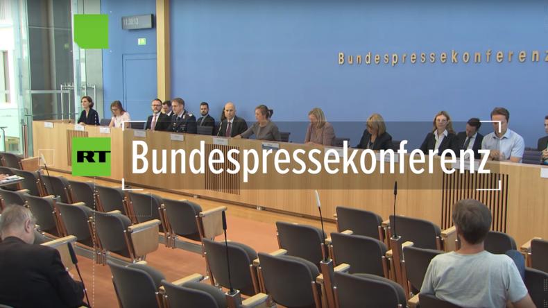 Bundespressekonferenz: Beredtes Schweigen zum Haushaltsloch