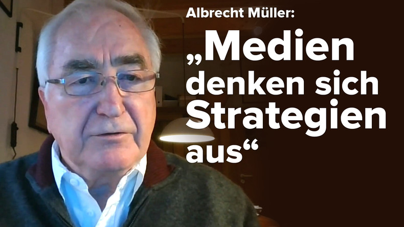 Alternative Medien auf dem Vormarsch #3: Albrecht Müller über Manipulationsmethoden (Video)