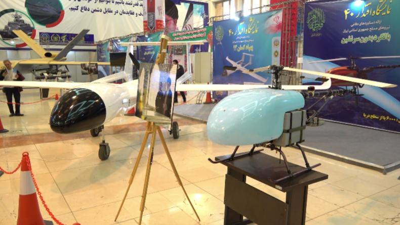 Iran: Neue Drohnen und Raketen auf der Militärausstellung in Teheran vorgestellt