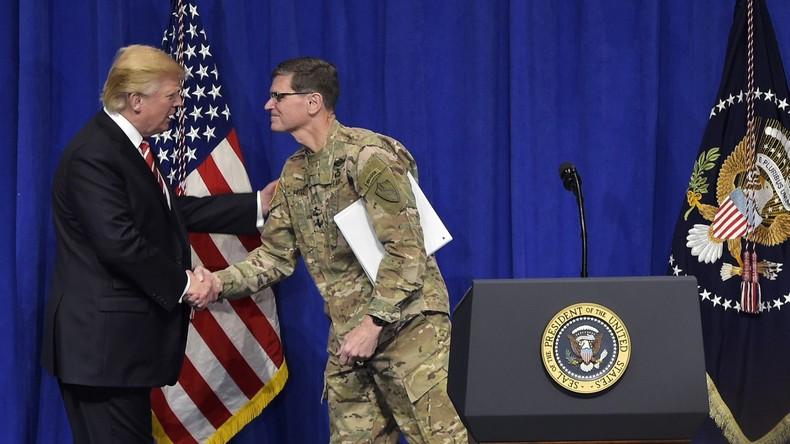 CENTCOM-Kommandeur wurde nicht über Syrien-Abzug informiert