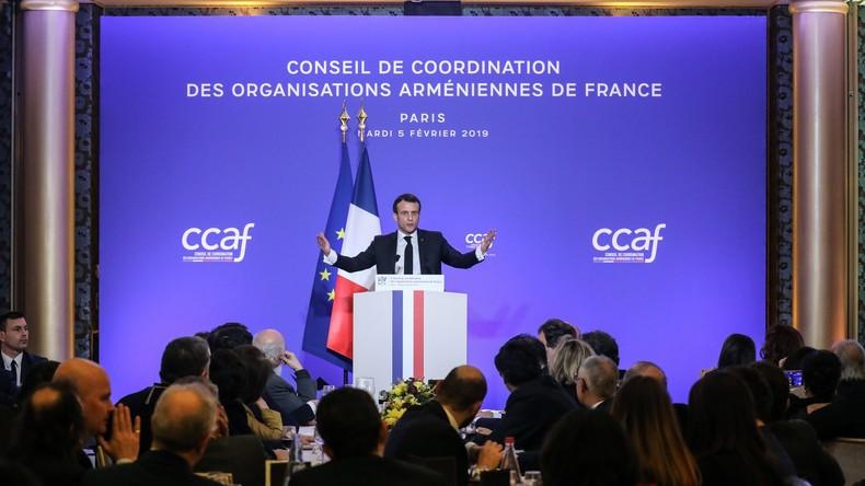 Macron plant nationalen Gedenktag für armenischen Genozid - Kritik aus der Türkei