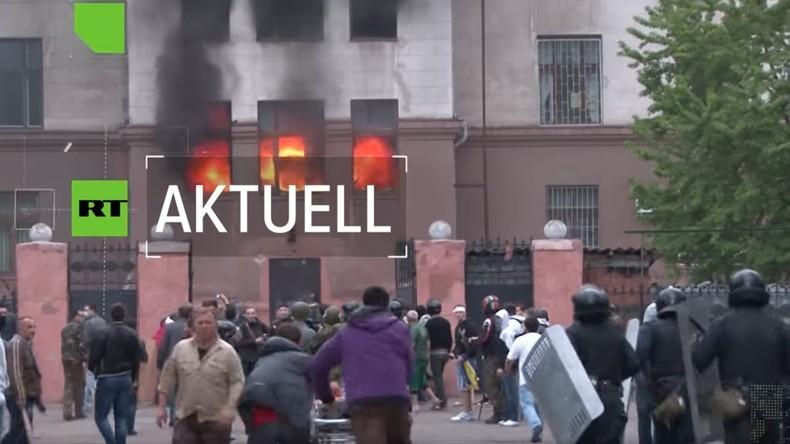"""""""Anschließend wurde ich ins Gefängnis gebracht"""": Überlebender des Odessa-Massakers berichtet (Video)"""