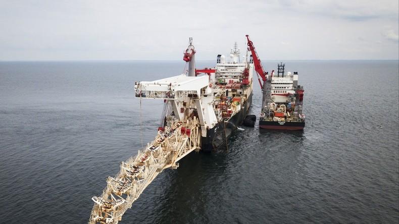 Zu weit für Einknicken vor Washington: Nord Stream 2 zur Hälfte bereits verlegt