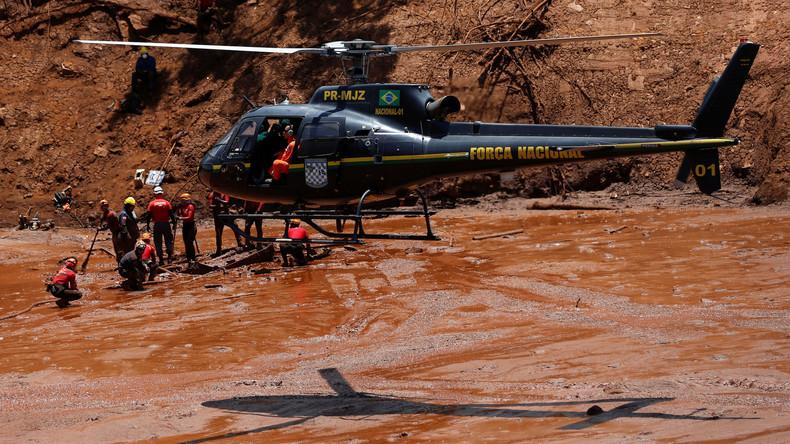 Zahl der Todesopfer nach Dammbruch in Brasilien steigt auf 150