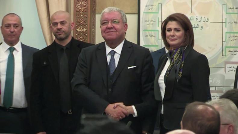 Libanon: Erste Innenministerin der arabischen Welt vereidigt