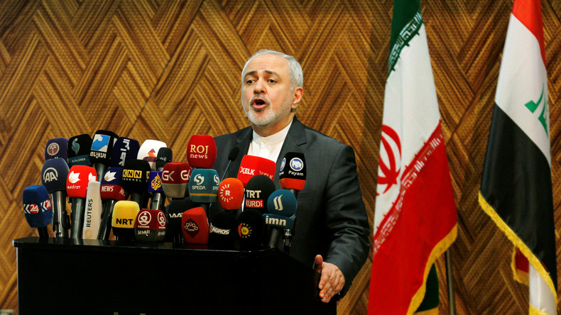 """Außenminister Irans: US-Hilfe für """"Diktatoren, Schlächter und Extremisten"""" hat Nahen Osten ruiniert"""