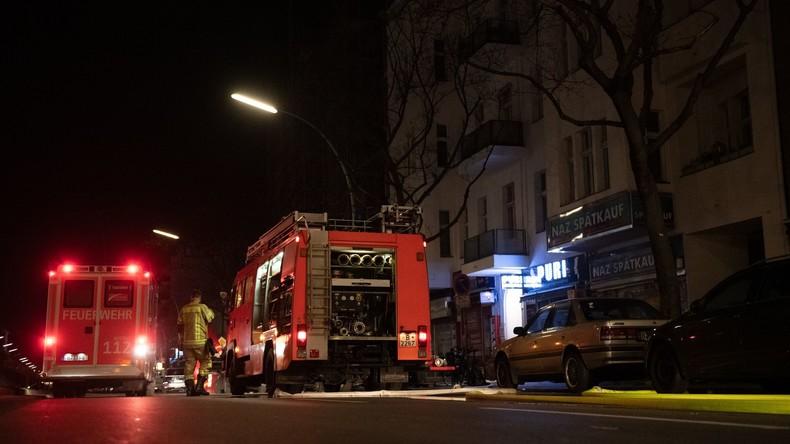 Zwei Tote bei Brand in Berliner Hochhaus