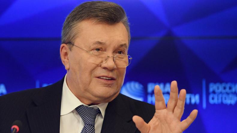 """Ex-Präsident Janukowitsch: Einmischung der Ukraine in Kirche fördert """"Spaltung und Hass"""""""