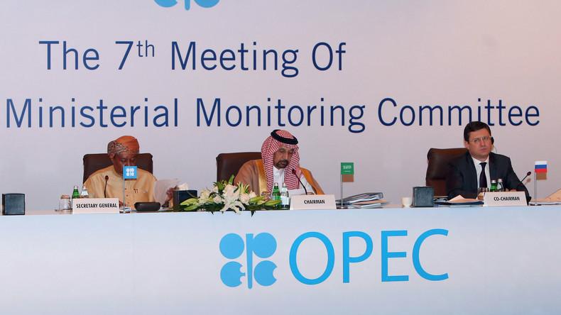 Wall Street Journal: OPEC will formelle Allianz mit Russland zur Steuerung des globalen Ölmarktes