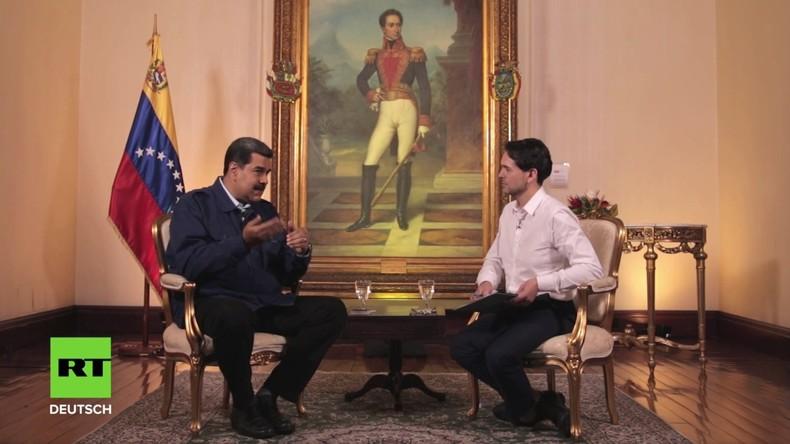 """Maduro im Exklusiv-Interview: """"Ich werde nicht als Verräter in die Geschichte eingehen"""" (Video)"""