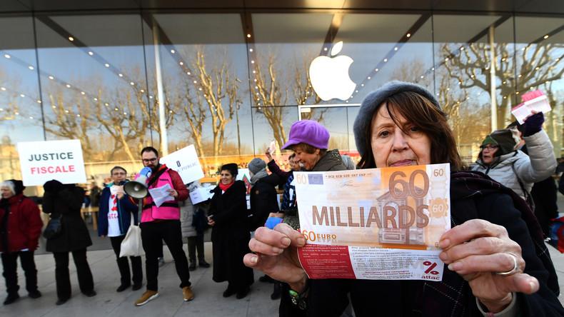 Halbe Milliarde Euro: Apple zahlt in Frankreich Steuern nach