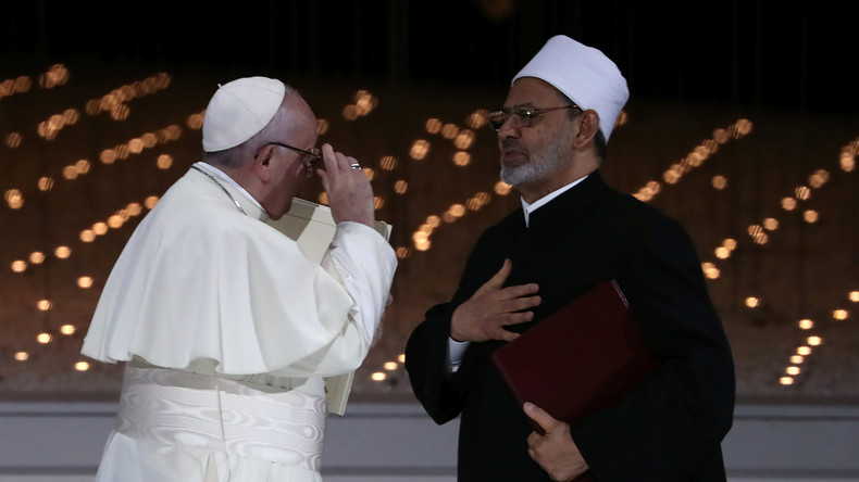 Göttlicher Frieden in den Arabischen Emiraten: Papst und Großimam unterzeichnen Pakt gegen Hass