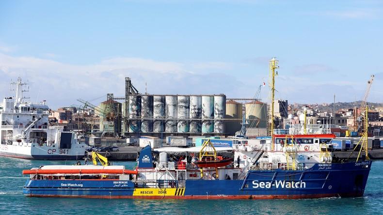 """Deutschland nimmt neun Migranten von """"Sea-Watch 3"""""""