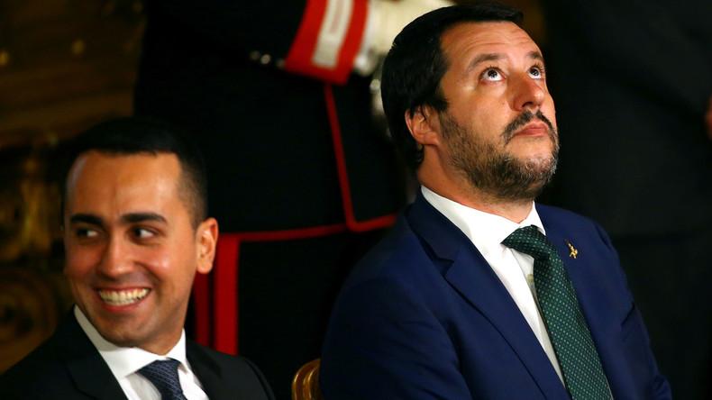 Zwist zwischen Rom und Paris: Italienischer Vizeregierungschef traf sich mit Gelbwesten