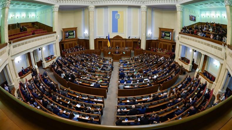 Ukrainische Rada verabschiedet Gesetz, das Wahlbeobachtern aus Russland Einreise verbietet