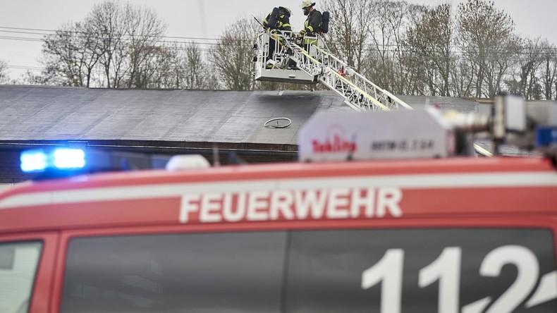 Fünf Tote bei Wohnhausbrand in Rheinland-Pfalz