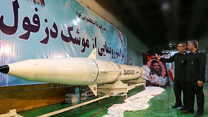 Iran stellt neue Mittelstreckenrakete vor