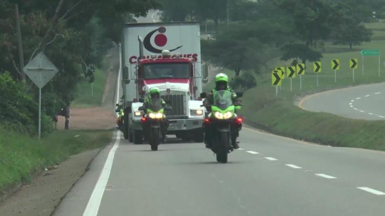 Kolumbien: US-Hilfskonvoi erreicht blockierte venezolanische Grenze