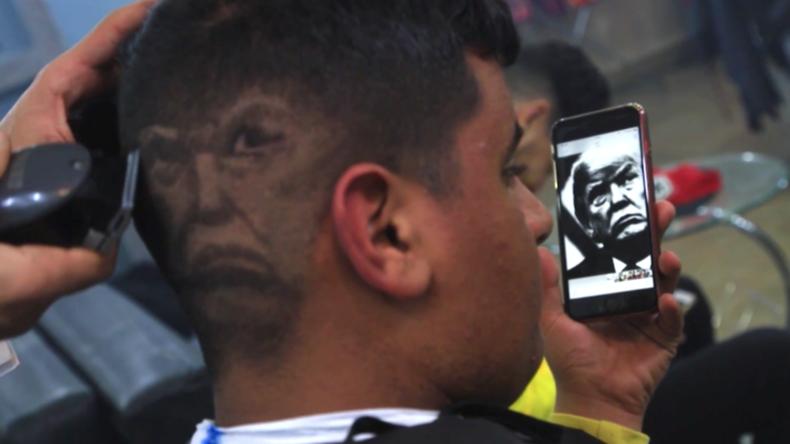 Make Hair Great Again – Friseur aus Benghazi zaubert Portraits ins Haupthaar