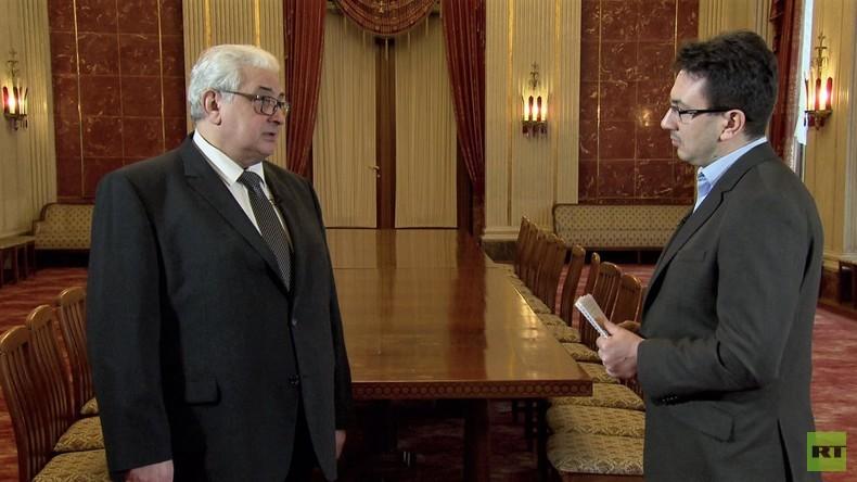 """Interview mit russischem Botschafter: """"Unser Journalisten-Verband diskreditiert niemanden"""""""