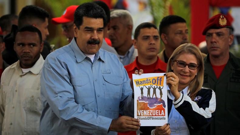 Venezuela: US-Sondergesandter Elliott Abrams fordert Maduro auf, das Land zu verlassen (Video)